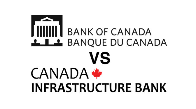 Bank of Canada VS Canadian Infrastructure Bank